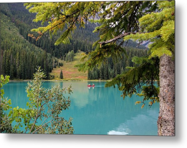 Emerald Lake British Columbia Metal Print