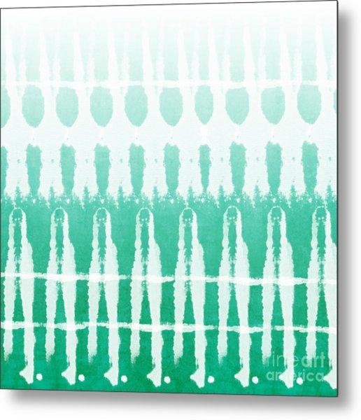 Emerald Ombre  Metal Print