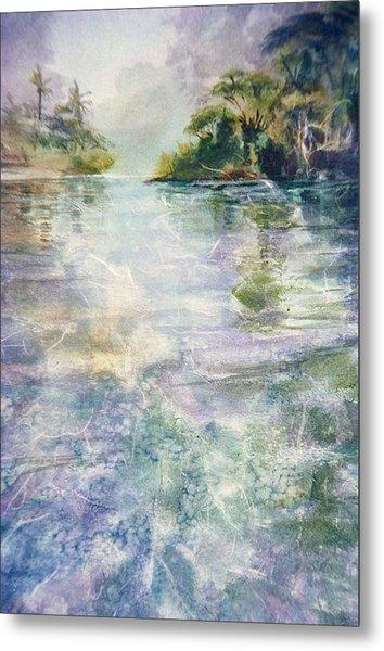emerald Stream Metal Print by Patrice Pendarvis