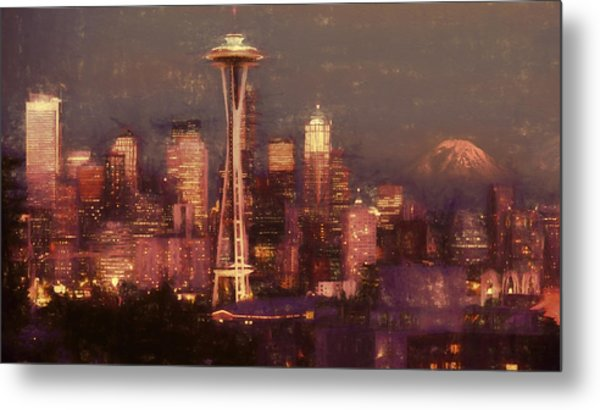Emerald Twilight Metal Print