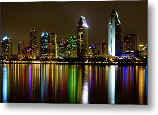 Eminent Echoes Of San Diego Metal Print