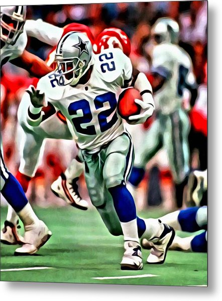 Emmitt Smith Metal Print