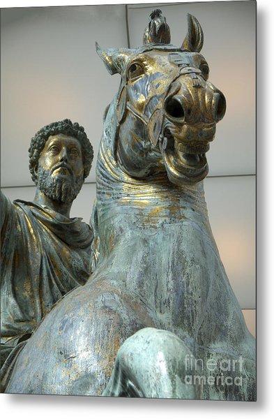 Emperor Marcus Aurelius Metal Print