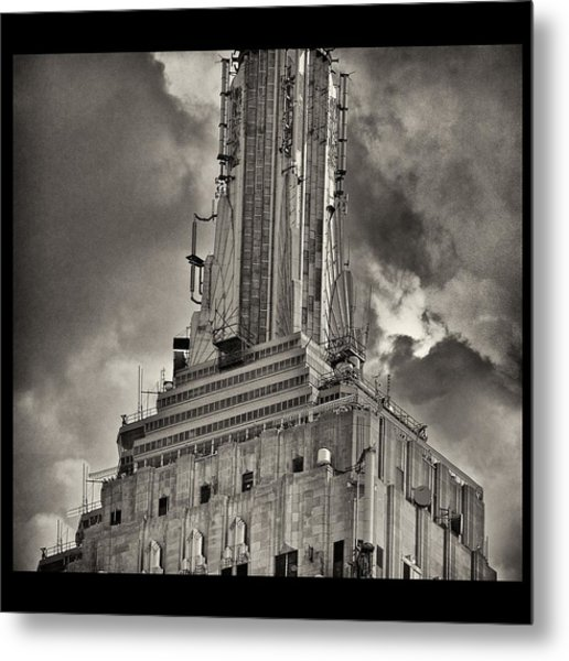 Empire State Building Metal Print by Scott Radke