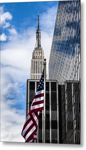 Empire State Metal Print by Chris Halford