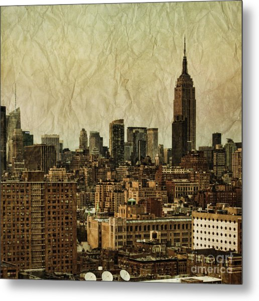 Empire Stories Metal Print
