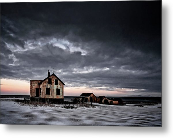 Emptiness Metal Print by ?orsteinn H. Ingibergsson