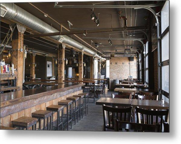 Empty Pub Metal Print by Hero Images