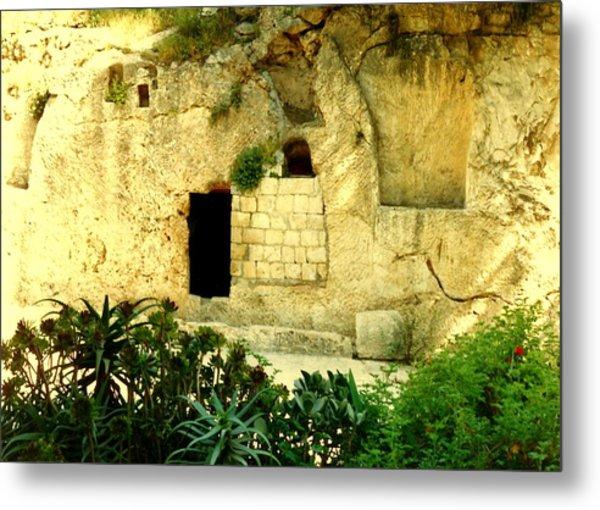 Empty Tomb Of Jesus Metal Print