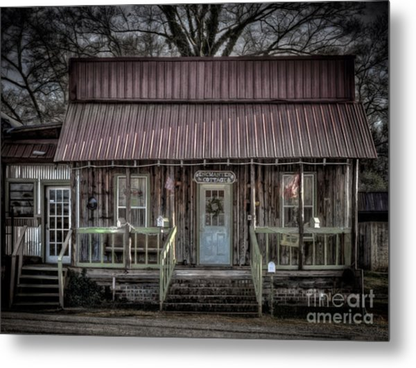 Enchanted Cottage Metal Print