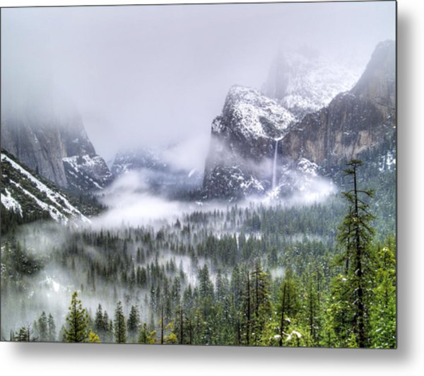 Enchanted Valley Metal Print