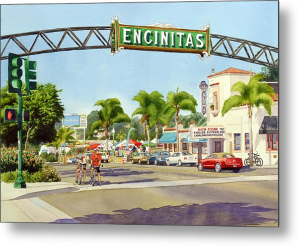 Encinitas California Metal Print