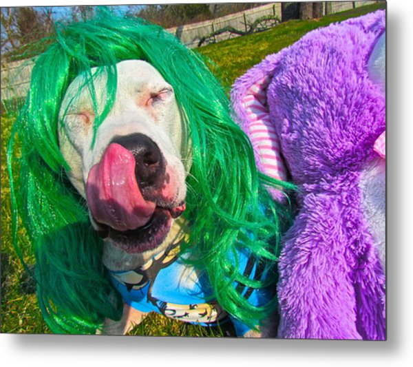 End Bsl You Cant Arrest Me Cause I'm Lady Gaga Metal Print by Q's House of Art ArtandFinePhotography