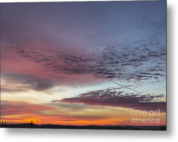 End Of 2012 Sunrise Metal Print