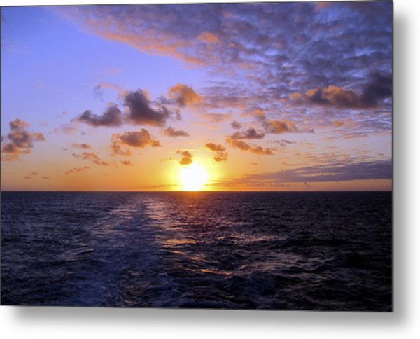 Hawaiian End Of Day Metal Print