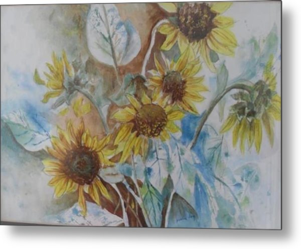 End Of Summer Metal Print