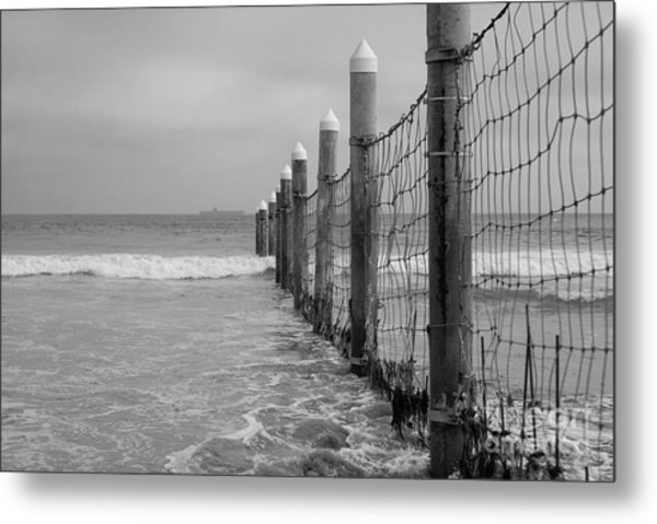 End Of The Beach Metal Print