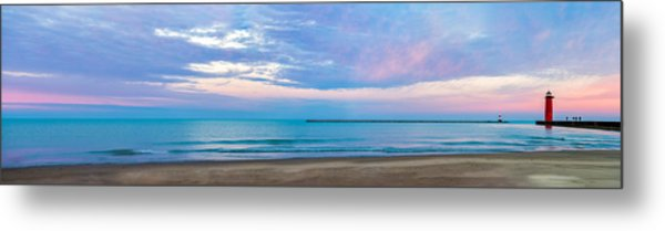 End Of The Blue Hour Metal Print