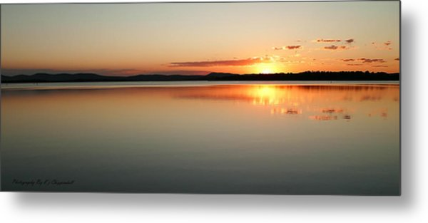 End Of The Day 01 Metal Print