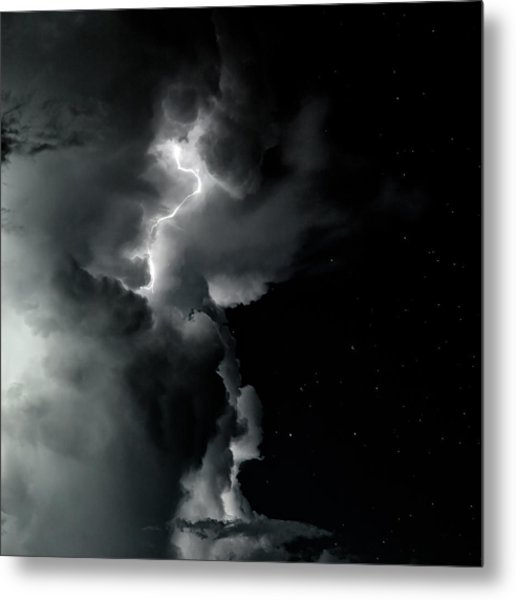 End Of The Storm Metal Print