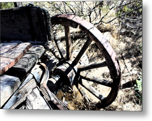 End Of The Trail Metal Print