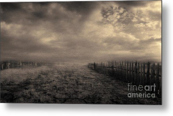 End Of The Way Metal Print