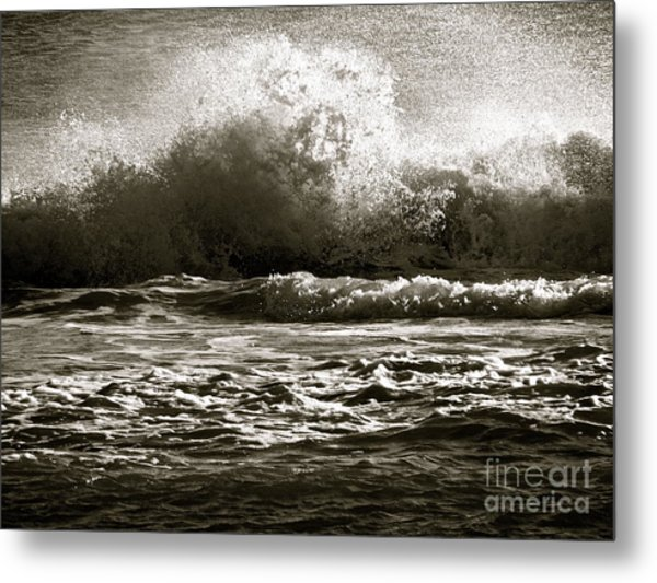 Endings Metal Print by Q's House of Art ArtandFinePhotography