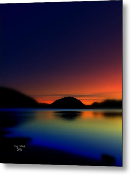 Endless Sleep Metal Print