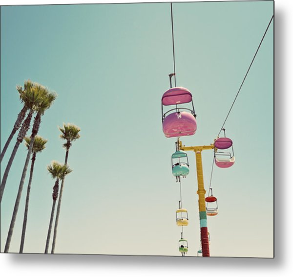 Endless Summer - Santa Cruz, California Metal Print