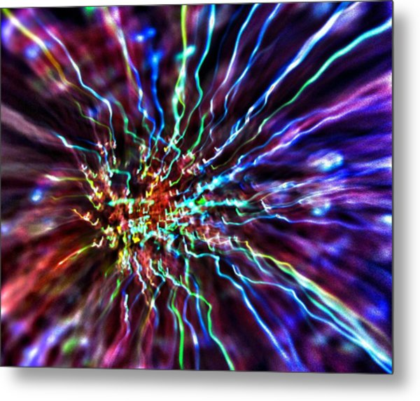 Energy 2 - Abstract Metal Print