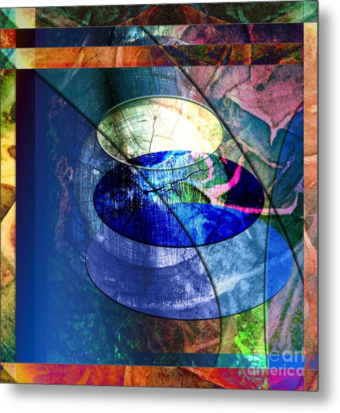 Energy Force Metal Print