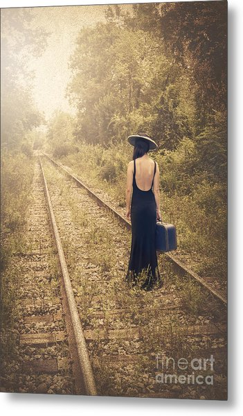 Engaged With Destiny Metal Print