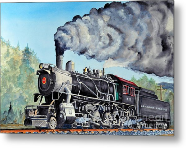Engine 475 Metal Print