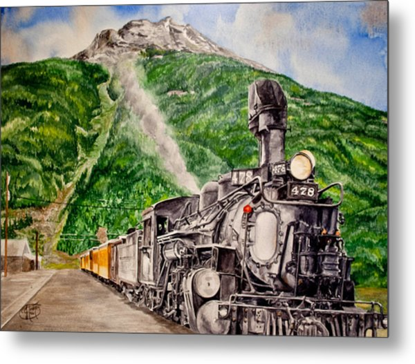 Engine 478 Metal Print