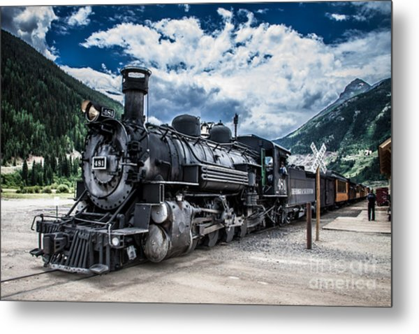 Engine 481 Metal Print