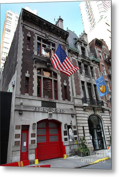 Engine Company 23 Fdny Metal Print