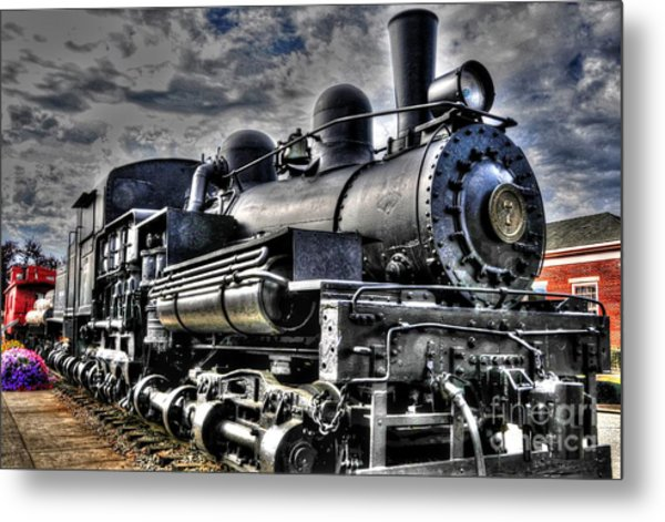 Engine No 7 Metal Print