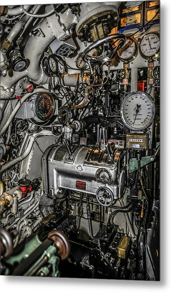 Engine Room Metal Print