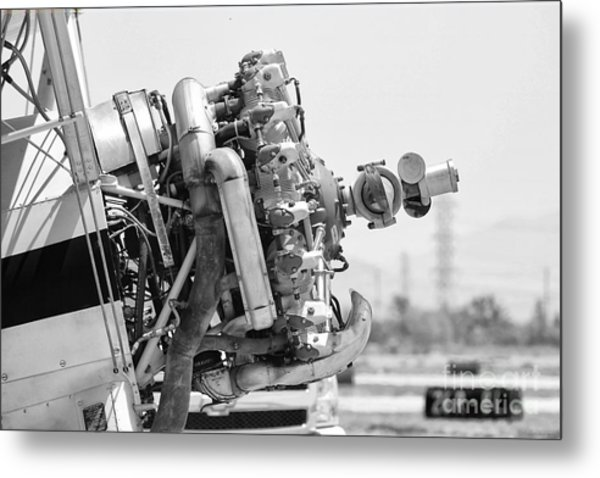 Engines Ready Metal Print by Mkaz Photography
