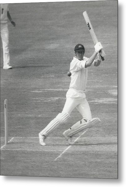 England V Australia At Lords Metal Print by Retro Images Archive