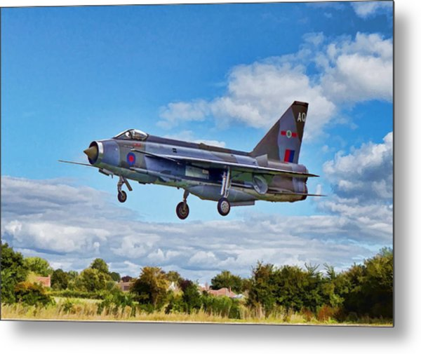 Metal Print featuring the photograph English Electric Lightning by Paul Gulliver