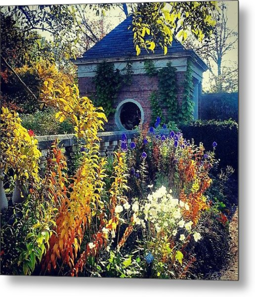 English Walled Garden Metal Print