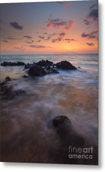 Engulfed By The Waves Metal Print