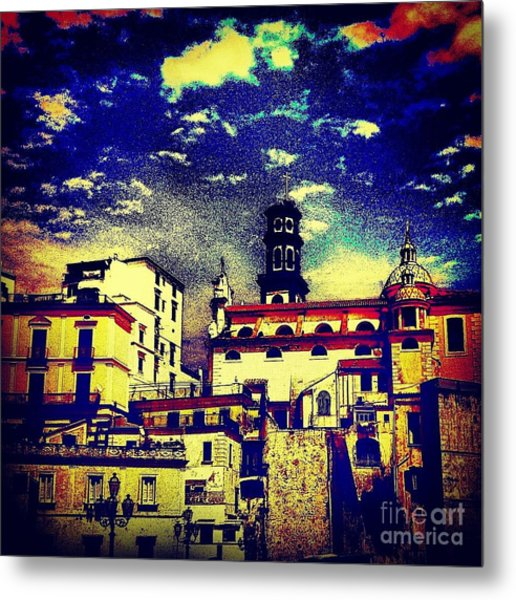 Enraptured By Amalfi Metal Print by H Hoffman