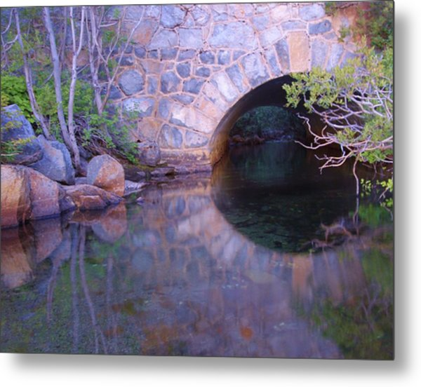 Enter The Tunnel Of Love  Metal Print