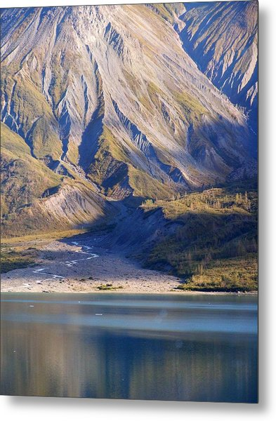 Entering Glacier Bay Alaska Metal Print