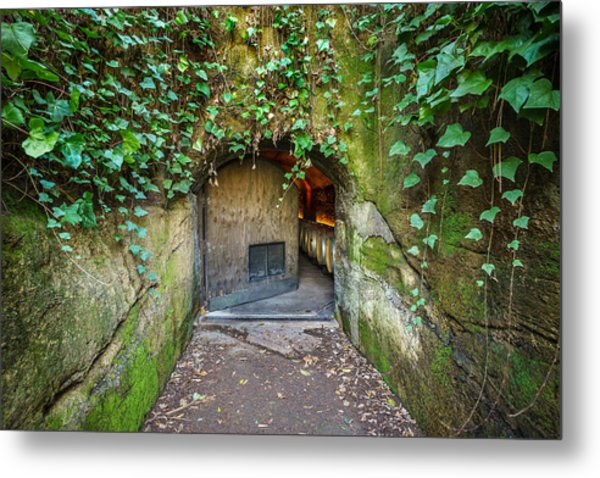 Entrance To A Winery Metal Print