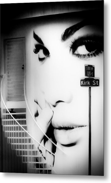 Entrance To A Woman's Mind Metal Print