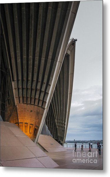 Entrance To Opera House In Sydney Metal Print