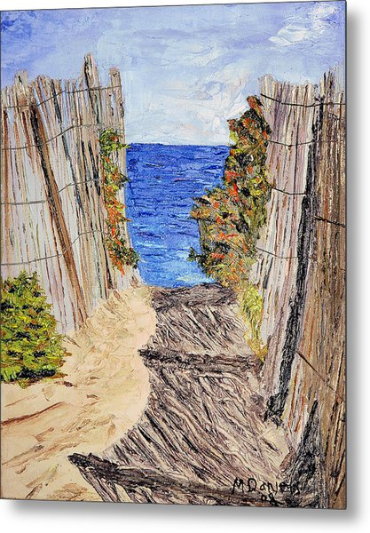 Entrance To Summer Metal Print